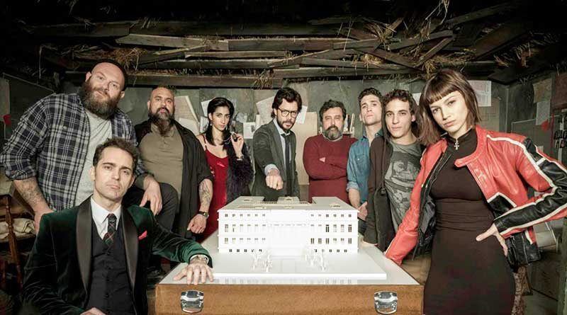 La casa de papel (Paper house) season 2