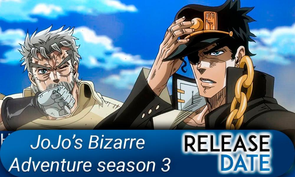 JoJo's Bizarre Adventure season 3