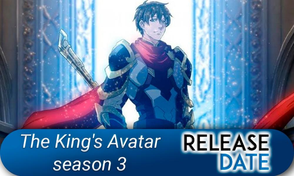The King's Avatar Season 3 / Quan Zhi Gao Shou 3