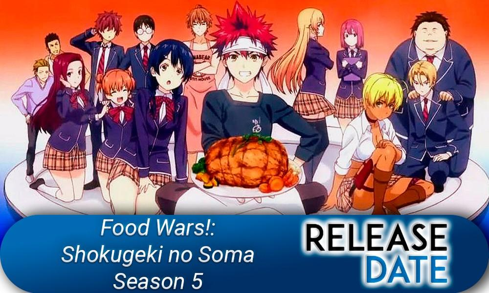 Food Wars!: Shokugeki no Soma Season 5