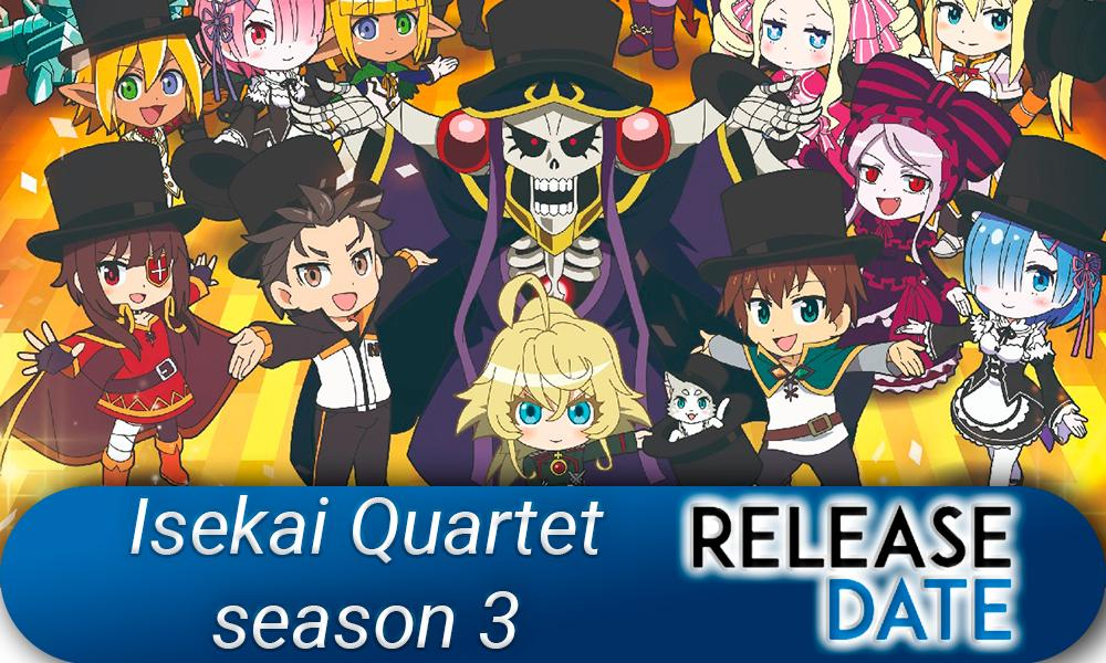 Isekai Quartet Season 3